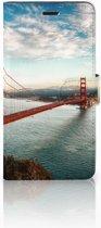 Wiko Pulp Fab 4G Boekhoesje Design Golden Gate Bridge
