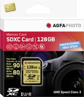 AgfaPhoto SDXC kaart UHS I 128GB Professional High Speed U3 90/80