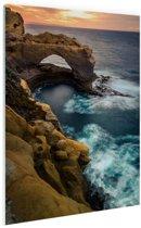 Great Ocean Road Australie Glas 80x120 cm - Foto print op Glas (Plexiglas wanddecoratie)
