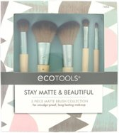 ECOTOOLS - Stay Matte & Beautiful - 5 Piece Matte Brush Collection