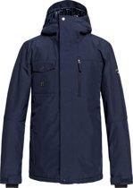 Quiksilver Mission Snowboard Jacket Heren Wintersportjas - Maat L  - Mannen - blauw