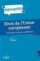 Droit de l'Union européenne. Institutions, sources, contentieux - 5e éd.