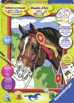 Schilderen Op Nummer 'Paardengefluister'
