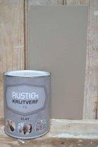 Rustiek Krijtverf 1 liter Kleur Clay