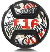 Kaiser Lens Cap Snap-On Style Snippets 55mm