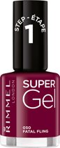 Rimmel London SuperGel Gelnagellak - 050 Fatal Fling