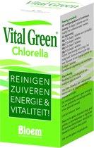 Bloem Vital Green Chlorella - 200 Tabletten - Voedingssupplement