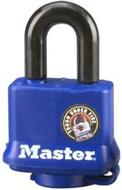 MasterLock all weather blauw hangslot 40mm x 10mm, 312EURD