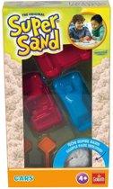 Goliath Super Sand Shapes Cars Speelzand 40 Gram 7-delig