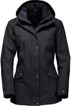 Jack Wolfskin Park Avenue Jacket - dames - winterjas - maat M - zwart