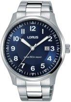 Lorus RH937HX9 horloge heren - zilver - edelstaal