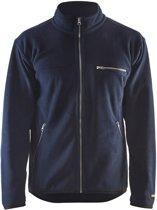 Blåkläder 4830-2510 Fleecevest Marineblauw maat S