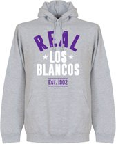 Real Madrid Established Hooded Sweater - Grijs - M