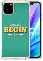 Apple iPhone 11 Pro Telefoonhoesje met tekst Quote Begin