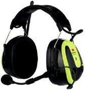 3M Peltor MRX21AWS6-ACK Gehoorkap XPI Bluetooth & Radio