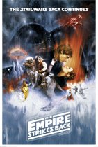REINDERS Star Wars The Empire Strikes Back - Poster - 61x91,5cm