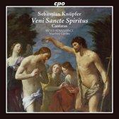 Sebastian Knüpfer: Veni Sancte Spiritus - Cantatas
