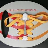 Greeper Sneakerveters  oranje 140 cm