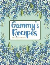 Gammy's Recipes Blue Flower Edition