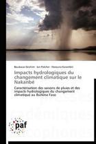 Impacts Hydrologiques Du Changement Climatique Sur Le Nakanbe