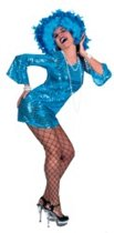 Aqua Disco Dress maat 40/42