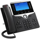 Cisco CP 8841 IP - VoIP telefoon - Antwoordapparaat - Zwart