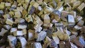eikenhout chunkies voor bbq, smoker en rookoven 60 liter