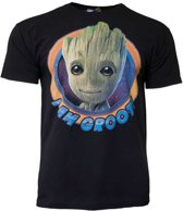 Baby Groot I am Groot shirt - Guardians of the Galaxy Circle maat S