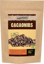 SuperFoodZ Cacao nibs Bio RAW - 300 gram - Voedingssupplementen - Superfood