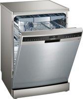 Siemens SN258I00TE iQ500 - Vrijstaande vaatwasser - RVS look