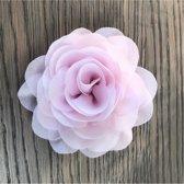 Leuke bloem (roos) op Clip - Licht Roze