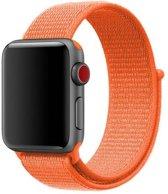 Sport Loop Bandje voor Apple Watch 42mm / 44mm - KELERINO. - Oranje