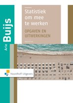Statistiek om mee te werken (opgaven en uitwerkingenboek)