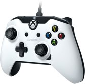 PDP - Wired Controller Official Xbox One White New Model 2018