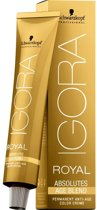 Schwarzkopf Professional Igora Royal Absolutes Age Blend Permanent Anti-age Color Creme Haarverf 8-01 60ml