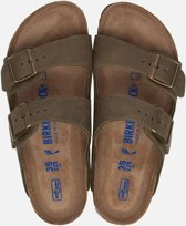 Birkenstock Arizona slippers groen - Maat 43