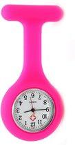 Treasure Trove® Siliconen Verpleegstershorloge Felroze - Verpleegkundige / Zuster Horloge