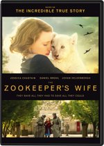 DVD cover van The Zookeepers Wife