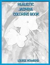 Realistic Jasmine Coloring Book