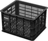 Basil Crate Medium Fietskrat - 33 liter - Zwart