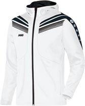 Jako Jacket Pro JR - Sportjas - Kinderen - Maat 128 - Wit / Zwart