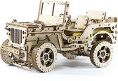 Wooden City Modelbouw Hout Jeep