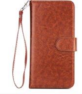 TomKas Hoesje Wallet Tobebest iPhone 7, 8 - Bruin Leder