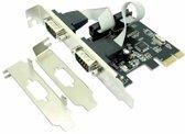 Approx APPPCIE2S Intern Serie interfacekaart/-adapter