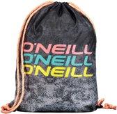 O'Neill Sporttas - Gym Sack - Zwart Met Wit - One Size