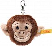 Steiff Jocko apenkop sleutelhanger 7 cm EAN 112485