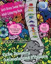 ANTI-STRESS Swear Word Adult Colouring Book