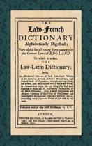 The Law-French Dictionary