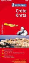 Michelin wegenkaart 759 Kreta