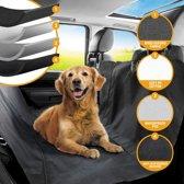 Premium Auto Beschermhoes Voor Kofferbak of Stoelen met kliksluitingen – 135 x 145 cm – Zwart – Vuil en Waterproof – Tegen Beschadigingen – Achterbank hoes – Autodeken – Hondenkleed